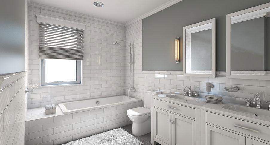 Badrumsrenovering – helentreprenad eller planera själv?